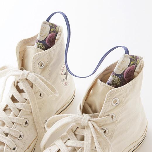 靴に差し込むだけで湿気を吸収。