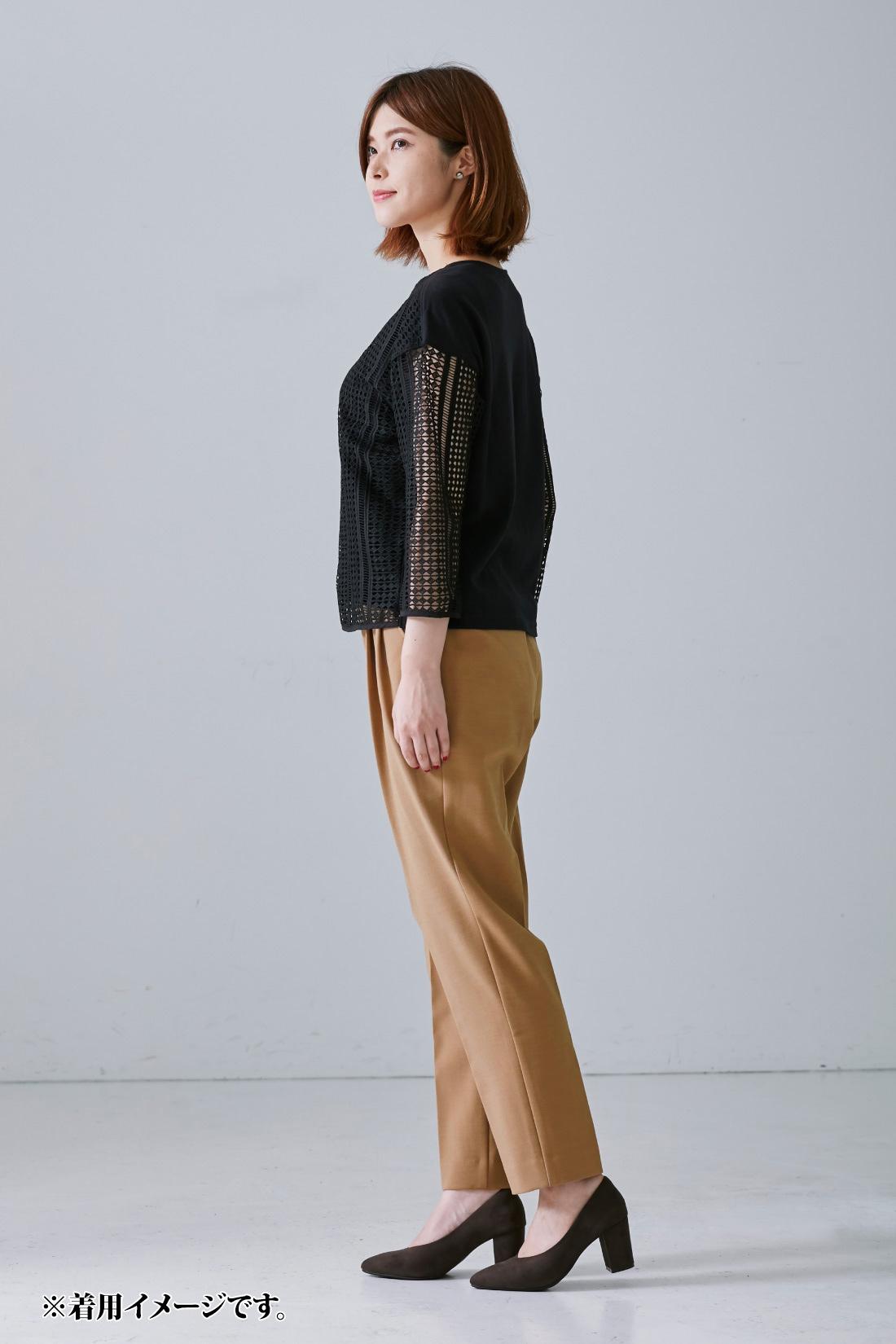 モデル身長:167cm 着用サイズ:M ※着用イメージです。お届けするカラーとは異なります。