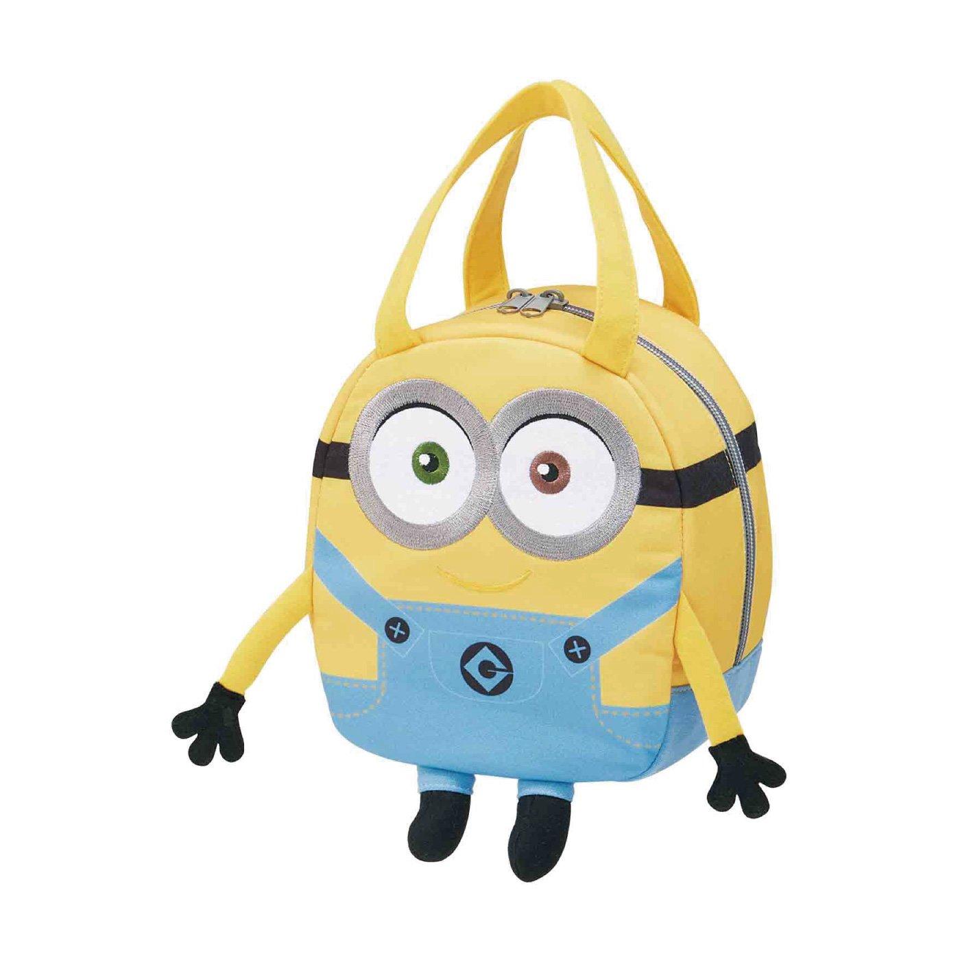 おでかけも、ミニオンと一緒! ミニオン スウェット素材バッグ