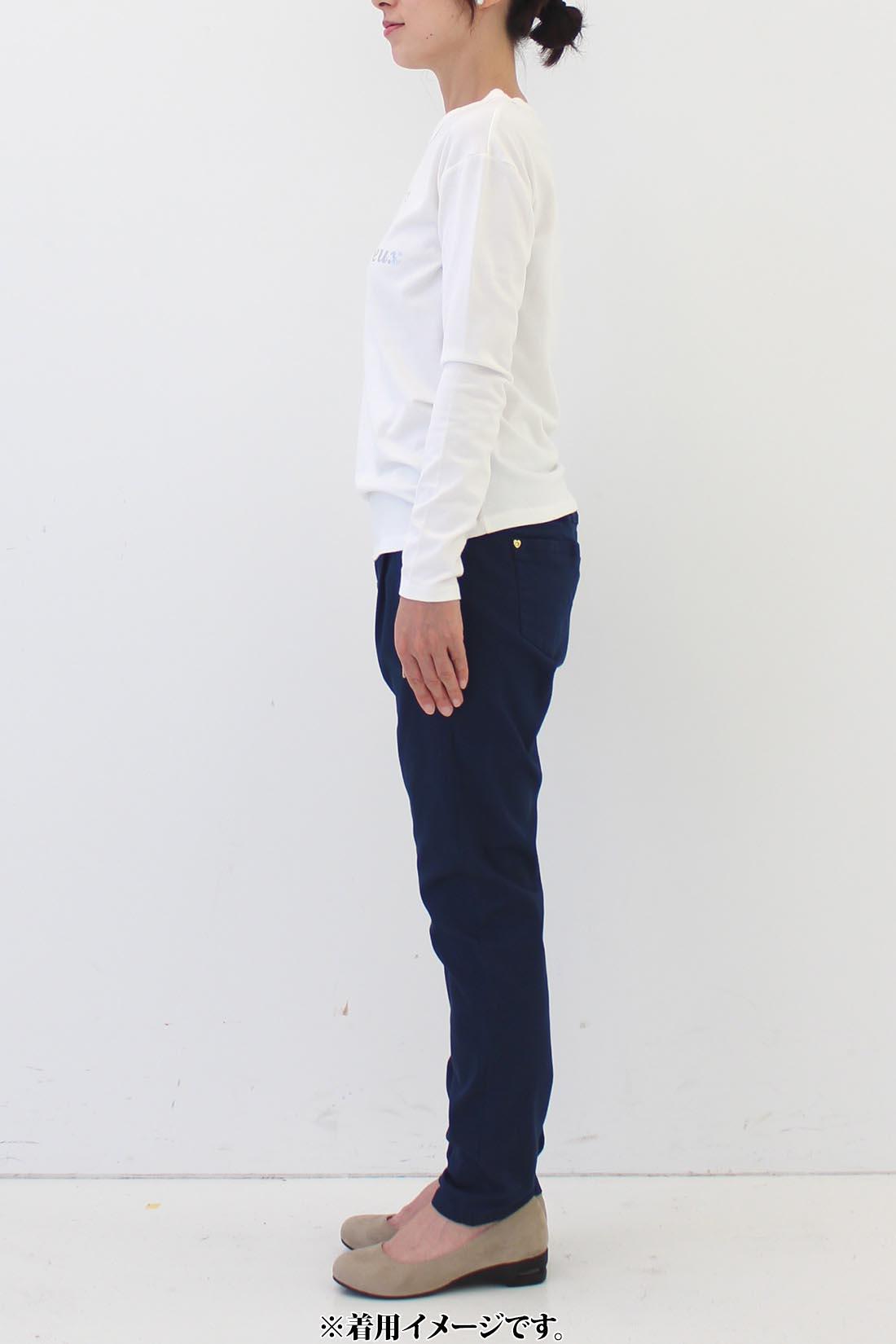 ★身長159cm・6サイズ(M)着用 ※着用イメージです。お届けするカラーとは異なります。