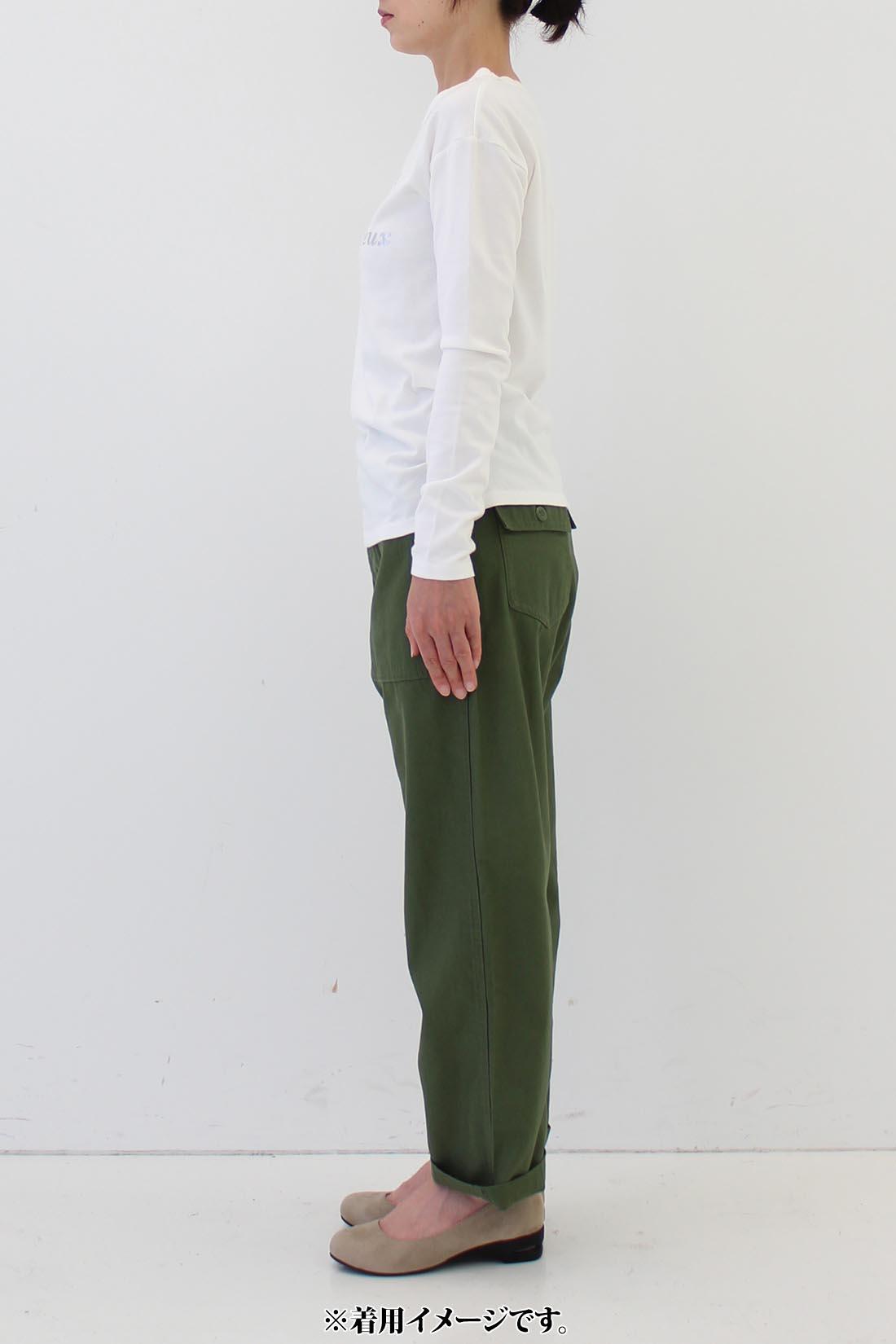 ★身長159cm・7サイズ(64)着用 ※着用イメージです。お届けするカラーとは異なります。