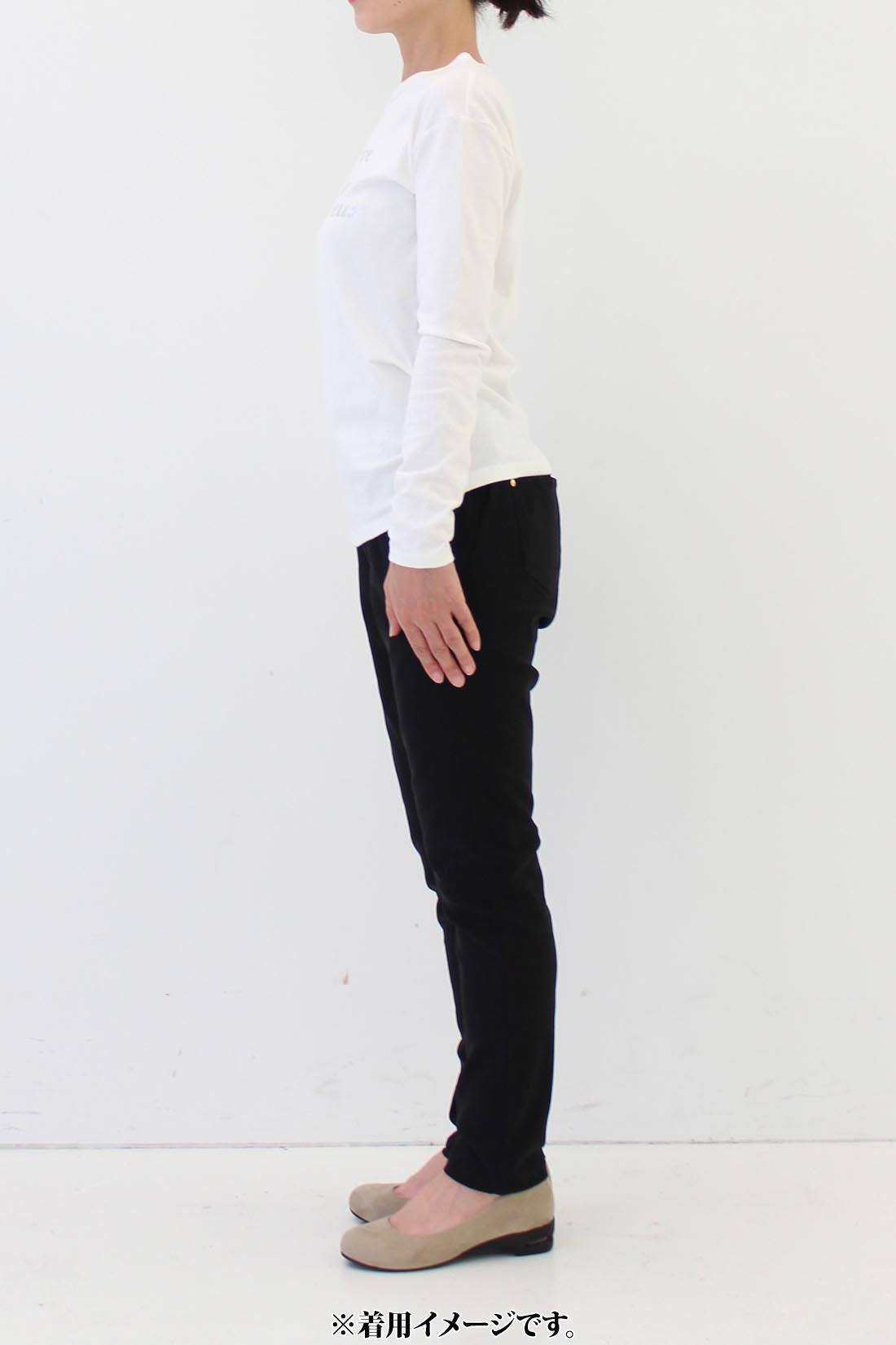 ★身長159cm・Mサイズ着用 ※着用イメージです。お届けするカラーとは異なります。