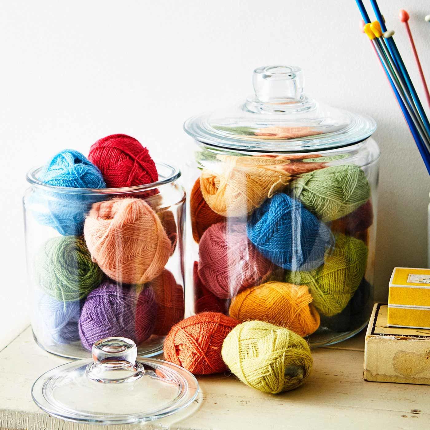 ふんわりやわらかな彩り かぎ針編みお花モチーフ復刻毛糸 30色セット