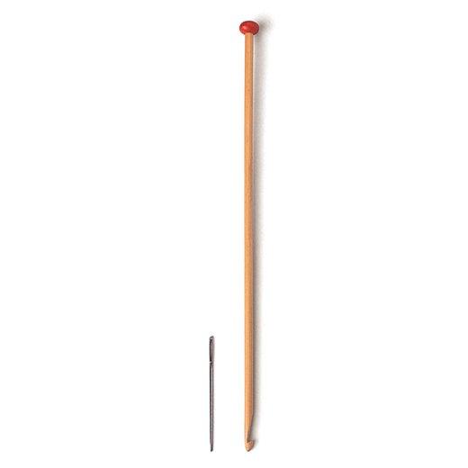 アフガン針と毛糸のとじ針セット