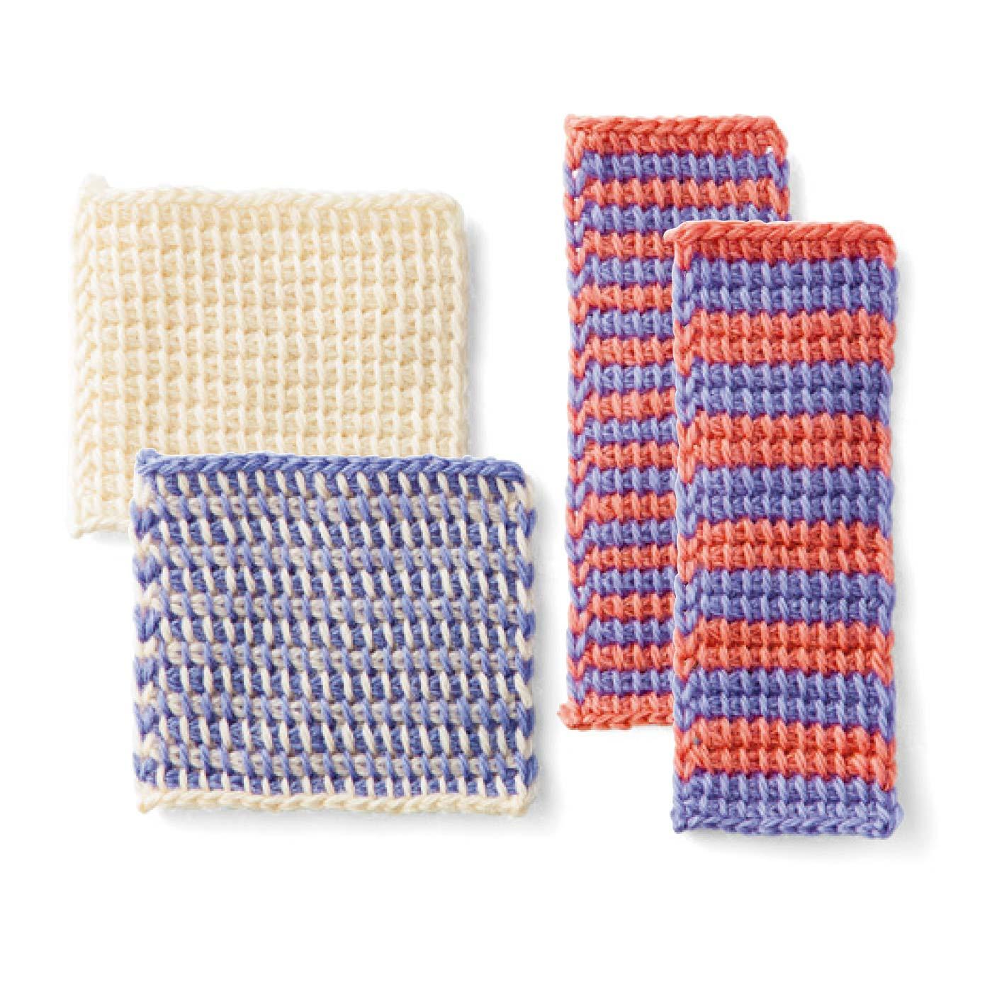 基本のプレーン編み