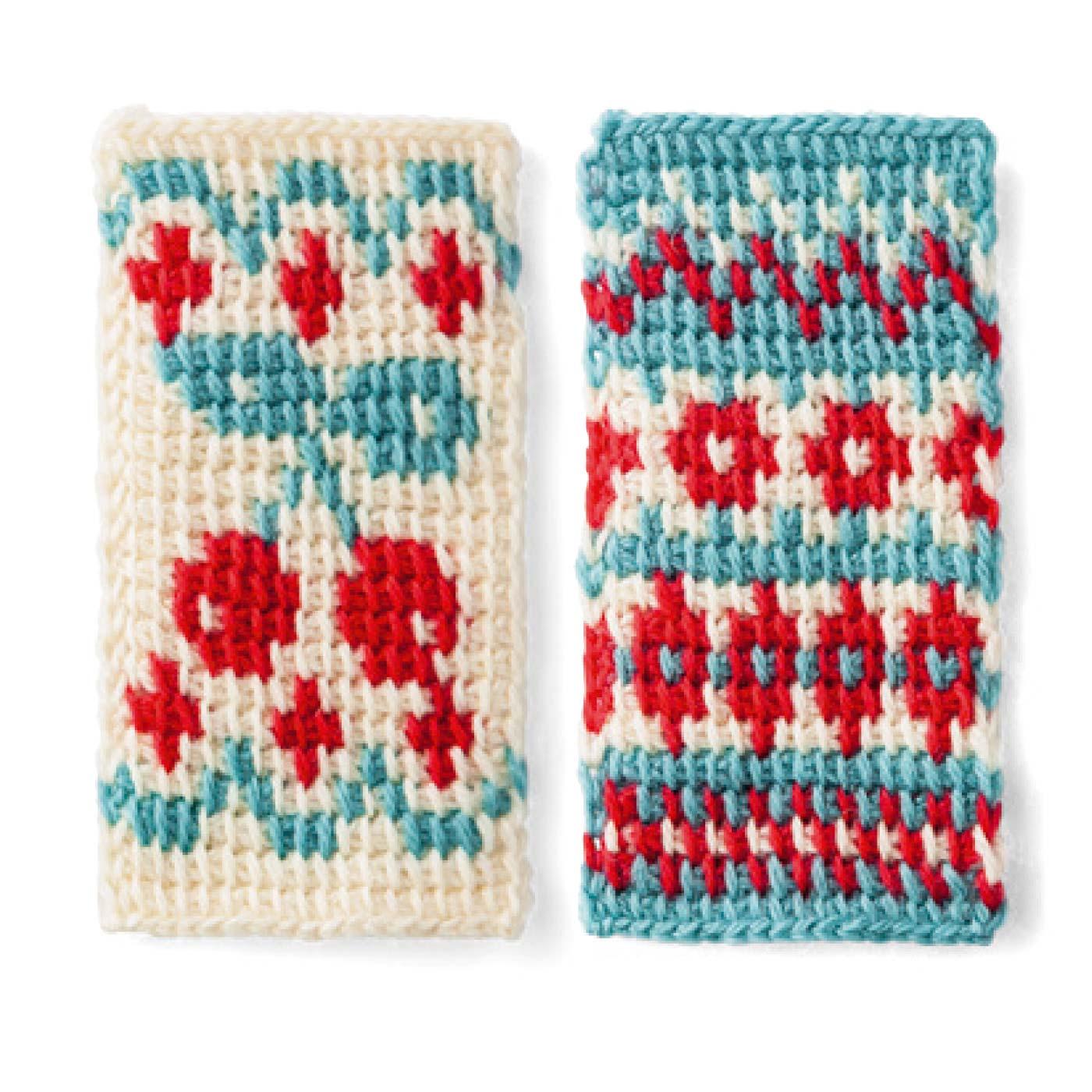 模様編み 4
