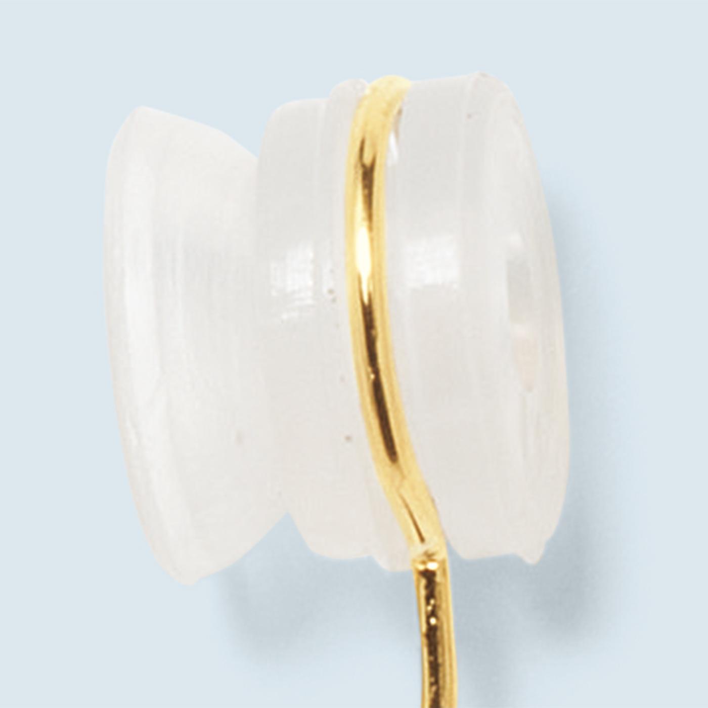 吸盤状のシリコーンゴムがやさしくフィット。