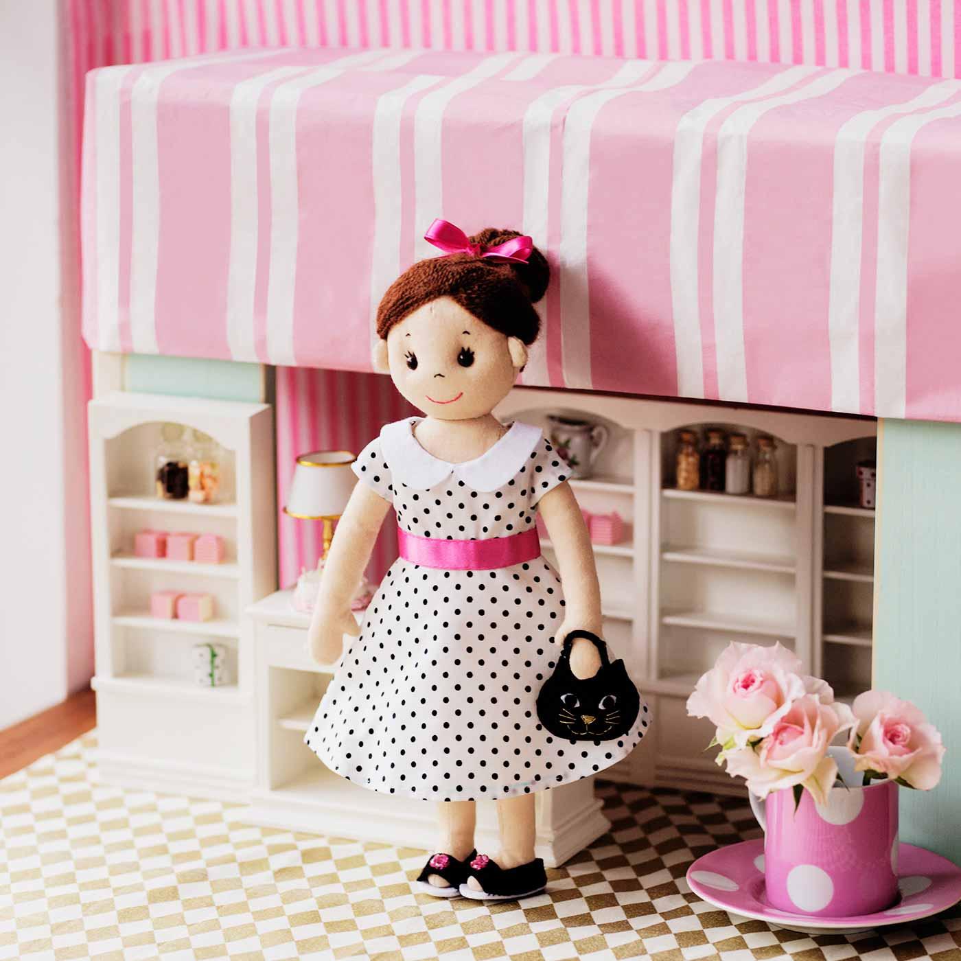 フェリシモ 個性いっぱい 愛情たっぷり コーディネイトを楽しむ きせかえ人形のお洋服の会