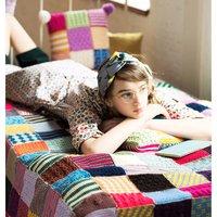 <フェリシモ> ぽってり編み地がなつかしいアフガン編みのサンプラーの会