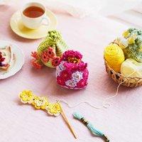 フェリシモ 日々に元気をくれる花言葉を身近に感じる かぎ針編みのお花きんちゃくの会