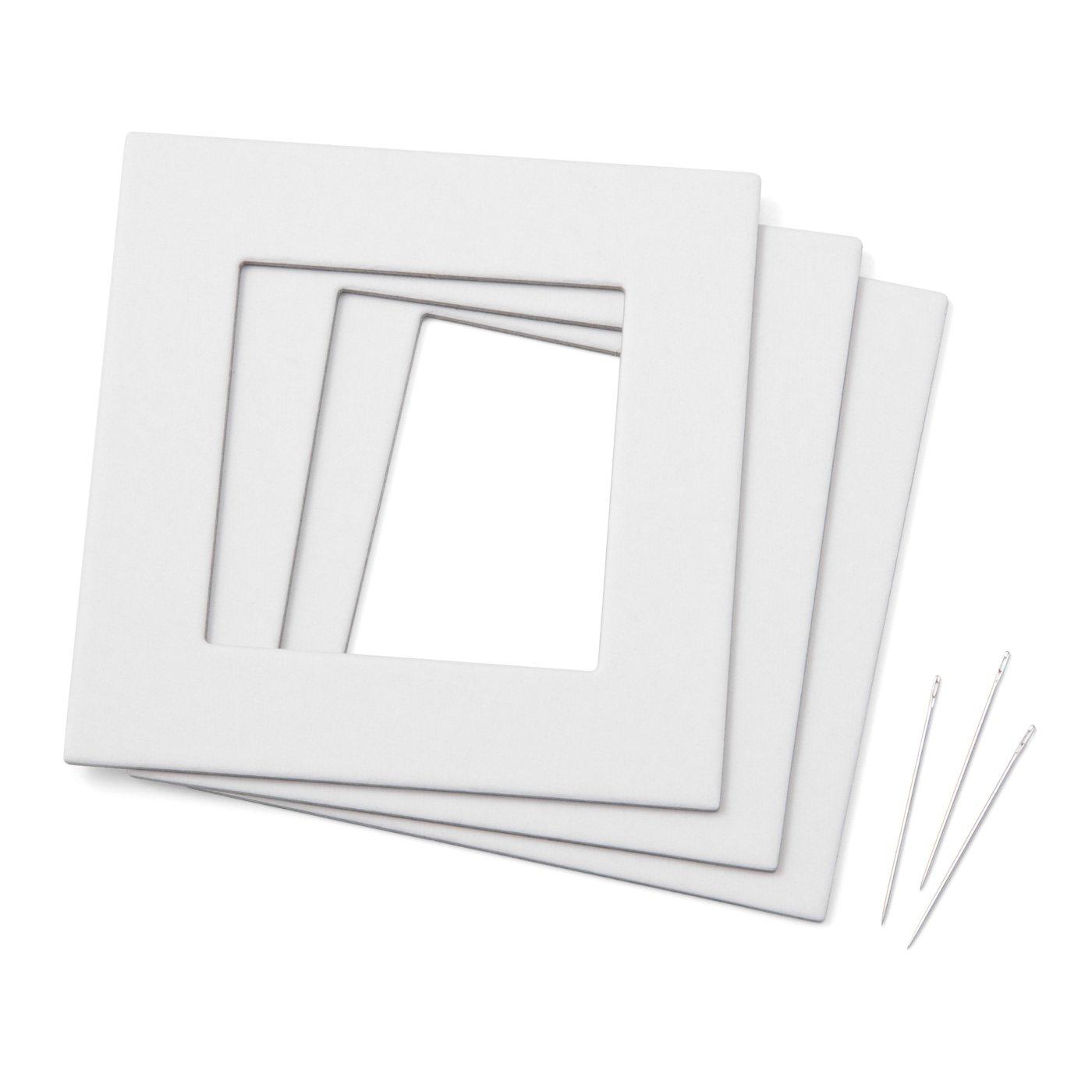 紙枠と針のセット