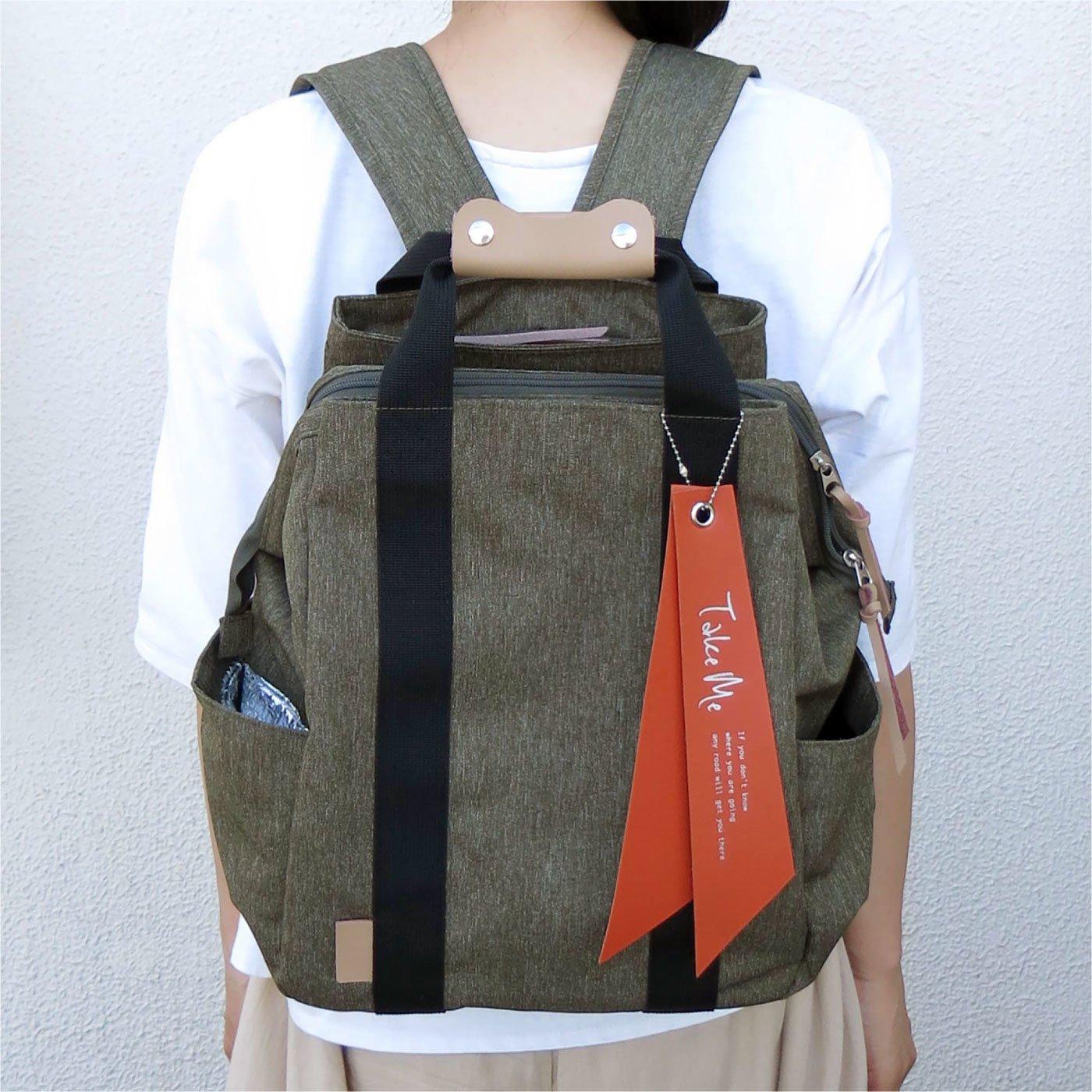 整理しやすい 多機能リュック Take Me Daypack