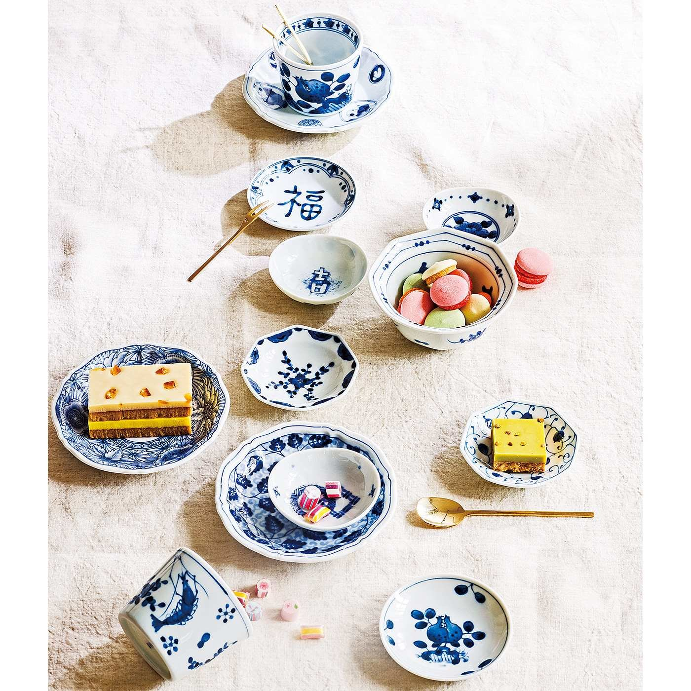 藍凛堂(あいりんどう) ちっちゃかわいい そばちょくと小皿の3点セットの会(5回予約)