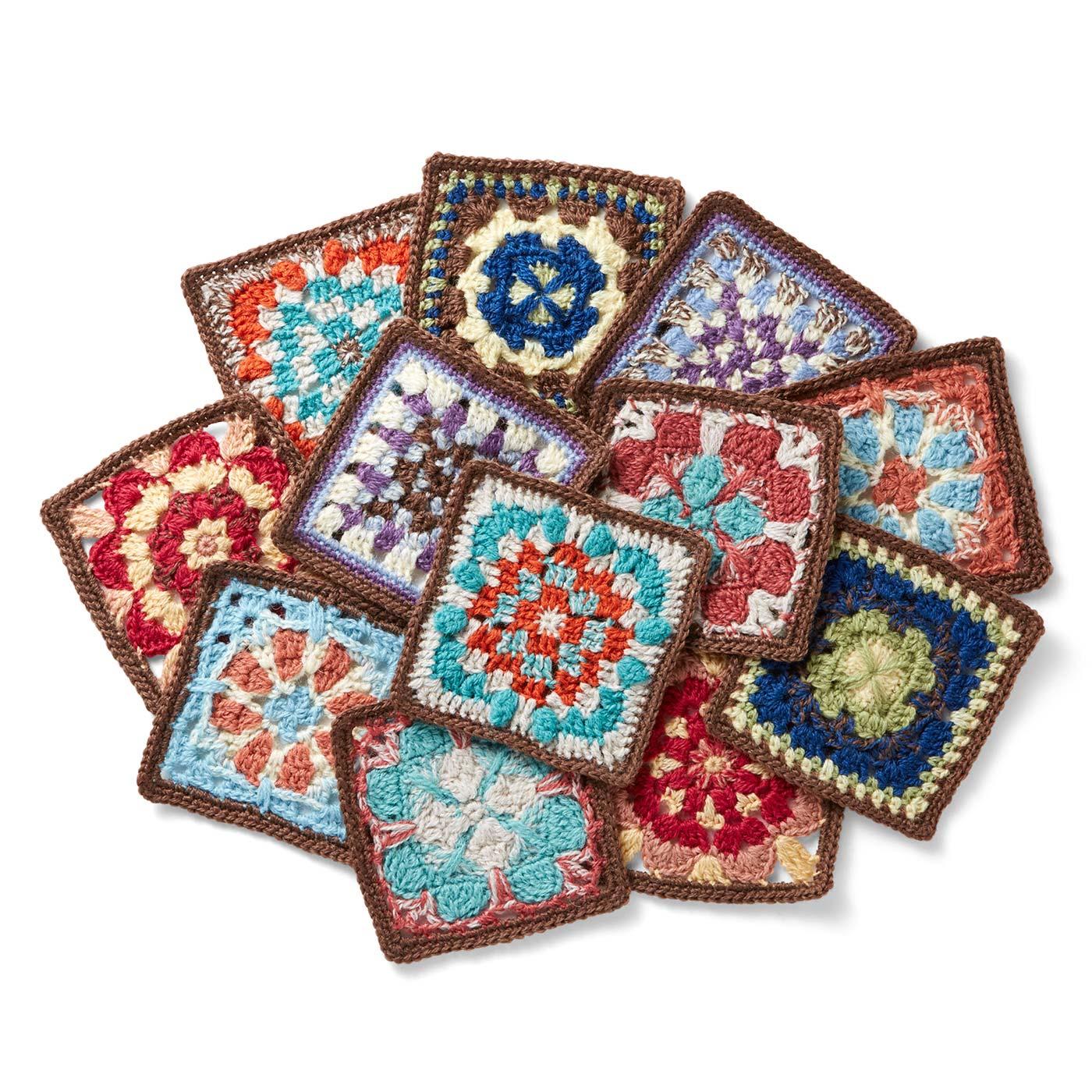工夫された編み地は毎回編みごたえたっぷり。