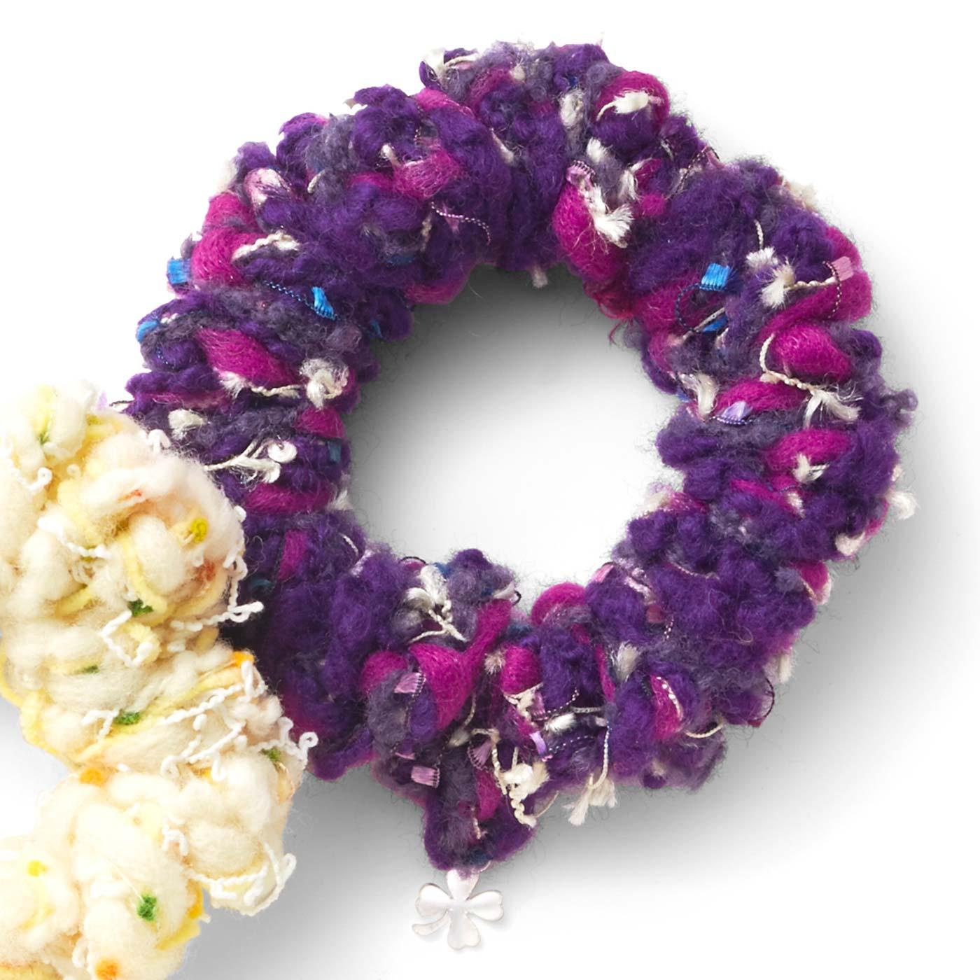 紫色のスミレ