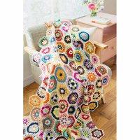フェリシモ 編んで広がるカラフルパターン 万華鏡みたいなかぎ針編みモチーフの会
