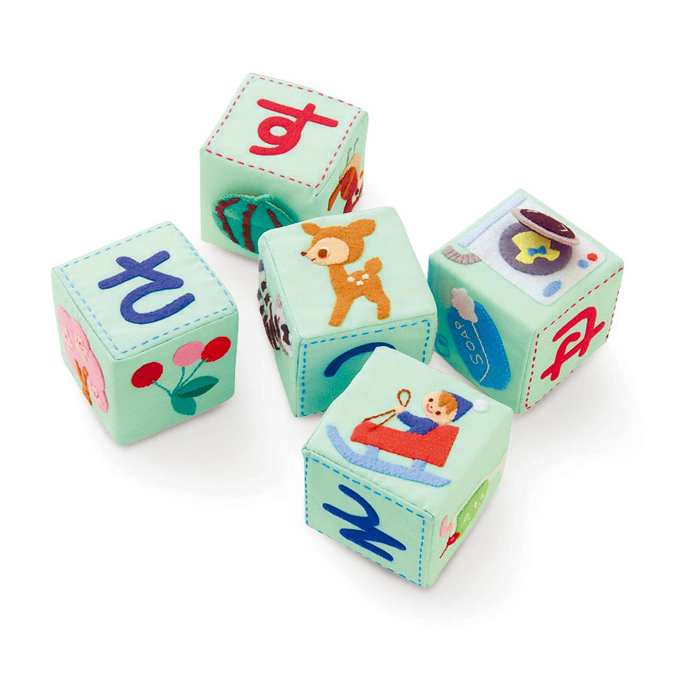 1回で5個のブロックが作れます。