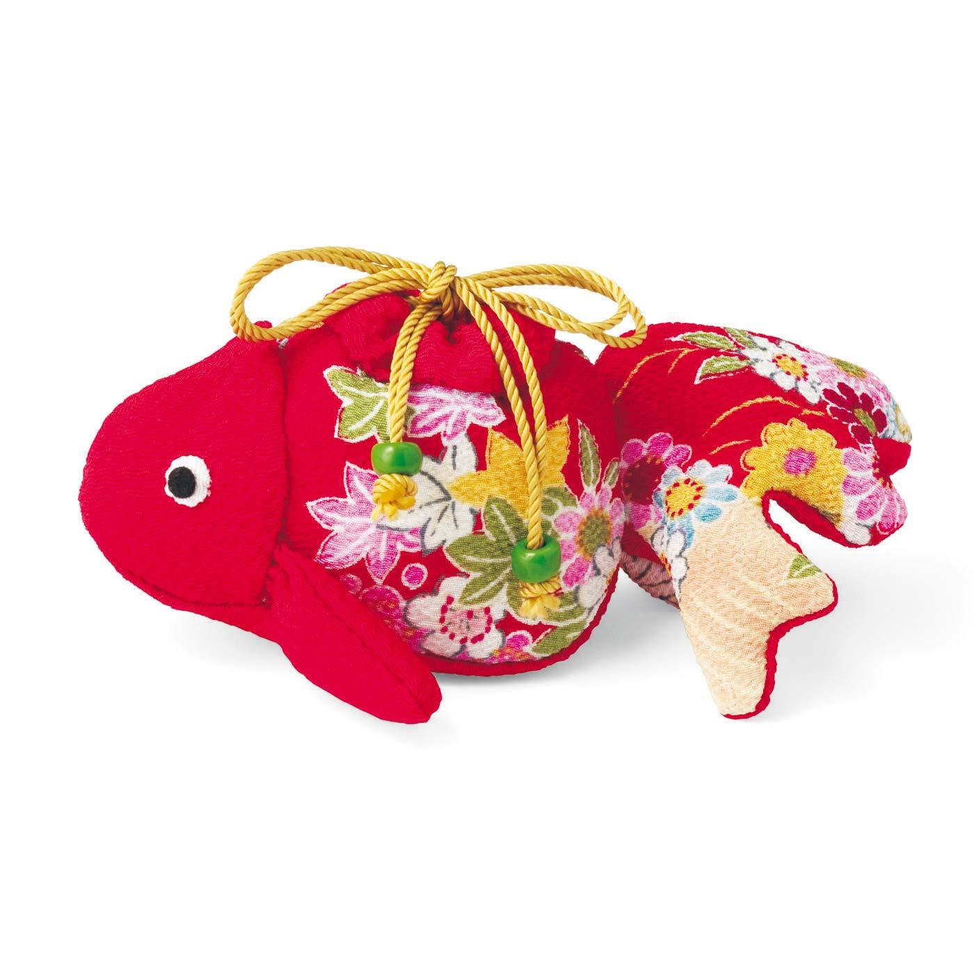 錦(にしき)色の金魚