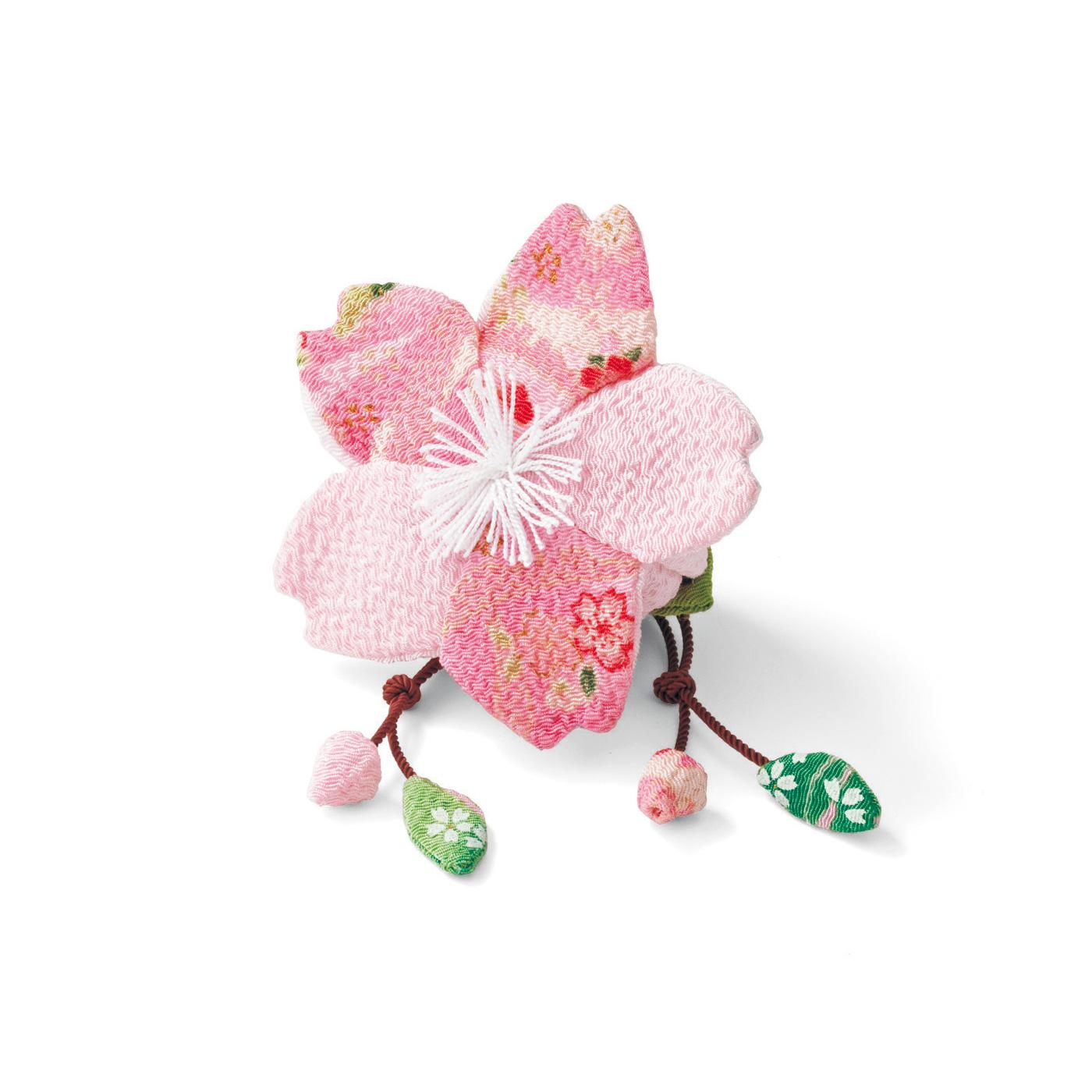 淡く可憐な桜の花