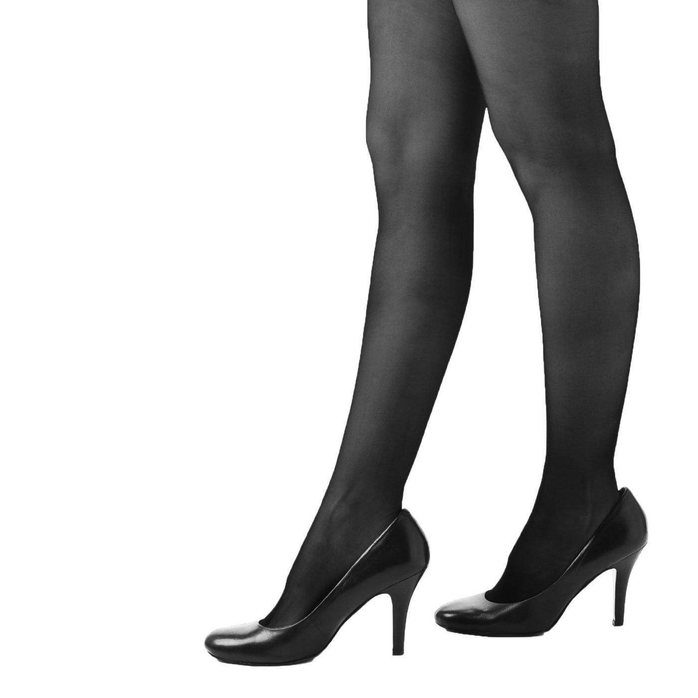 四季の弔事にピッタリ 上品な大人ブラックの礼装用ストッキング 3足セット