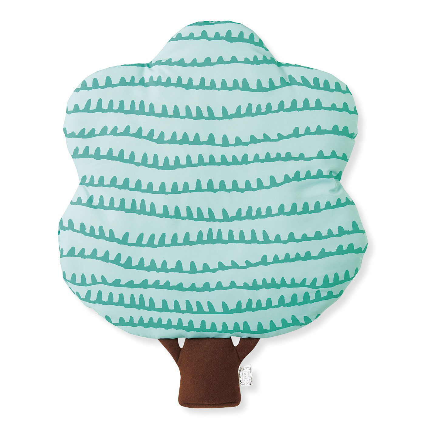 実りの森 お部屋やソファを森に ふわふわわたの入った 木のクッションカバー