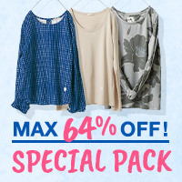 MAX64%OFF! ファッションSPECIAL PACK