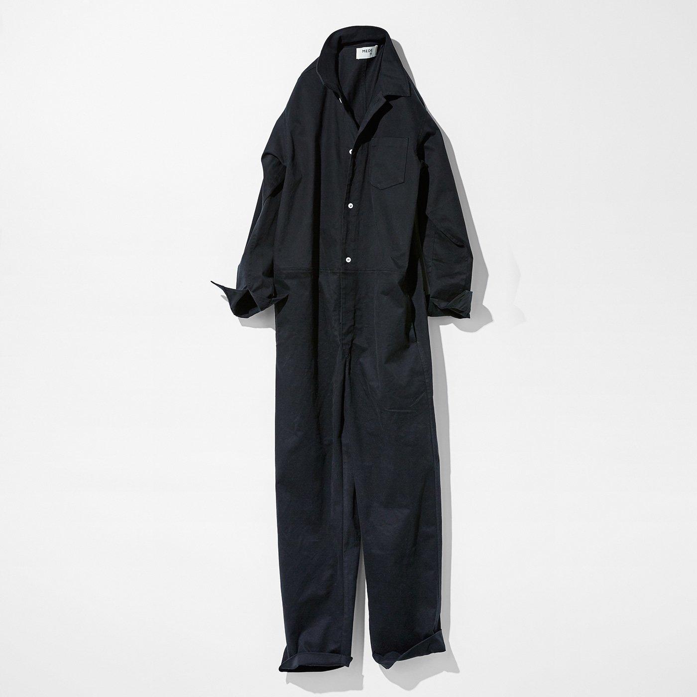 MEDE19F ボイラースーツ〈ブラック〉