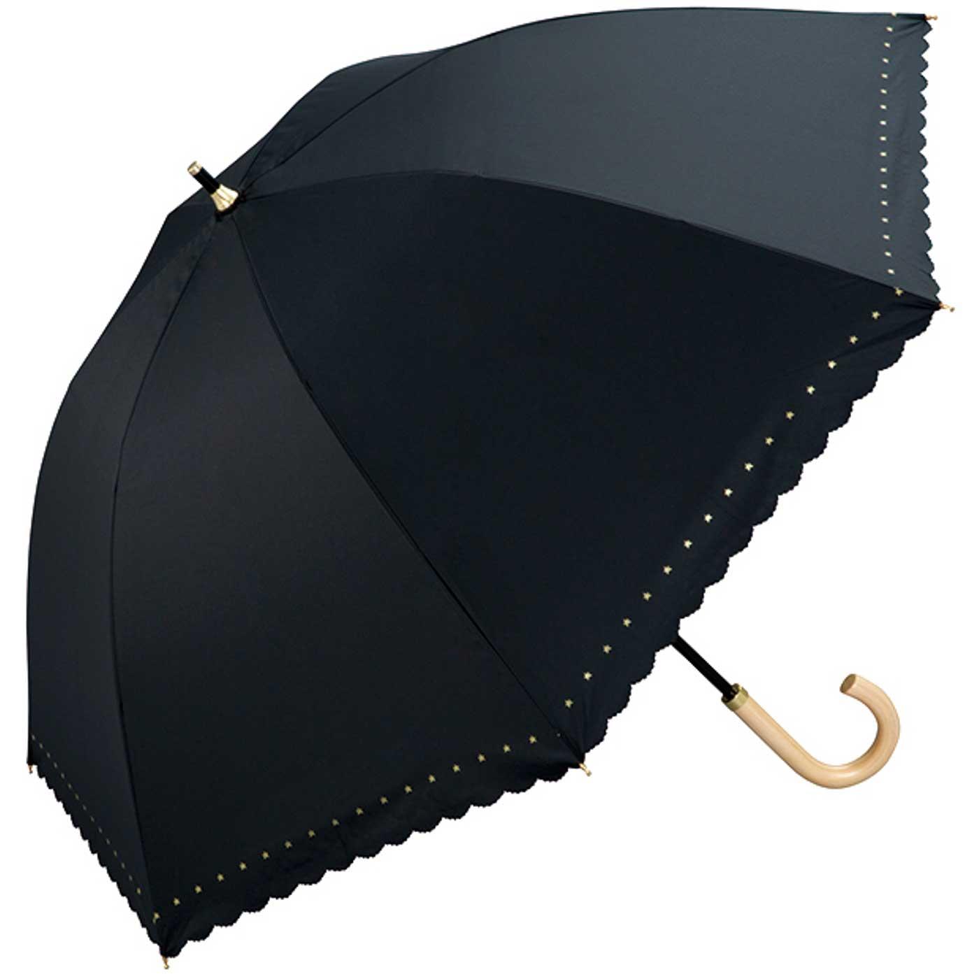 〈2.ブラック〉UVカット率99%! 遮光&遮熱パラソル。