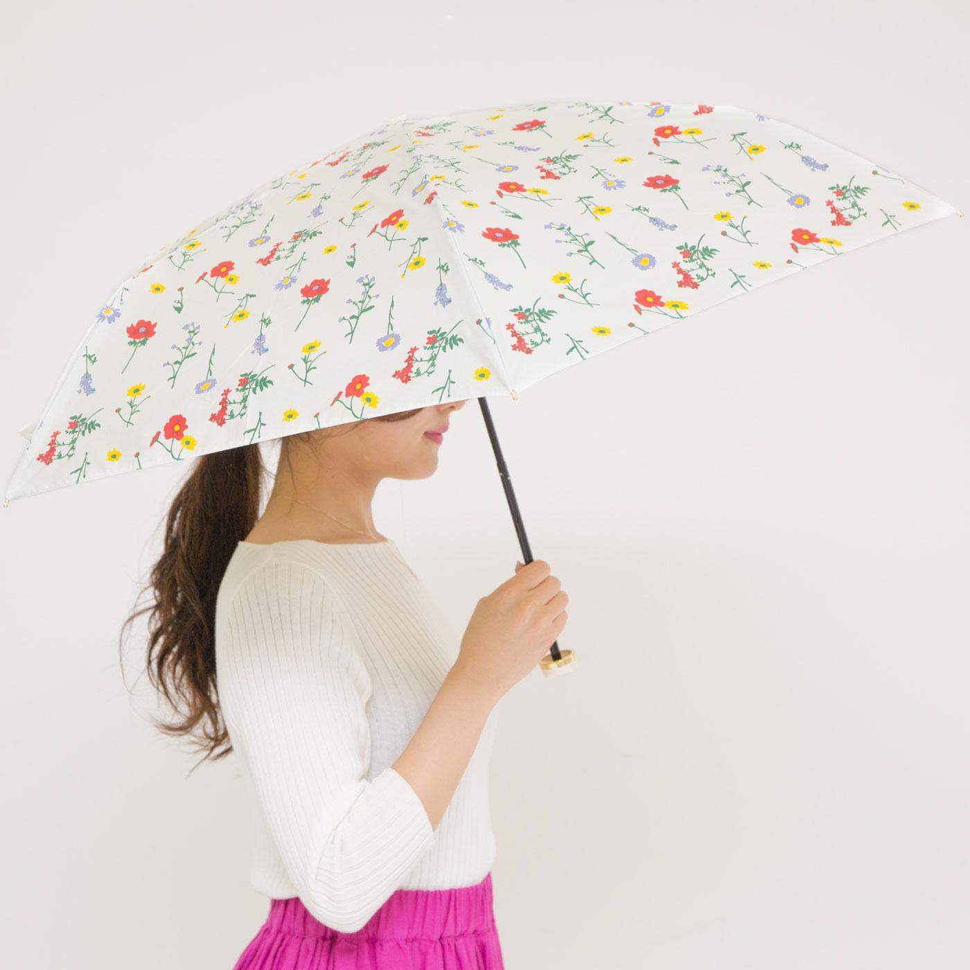 晴雨兼用だから雨の日も安心。