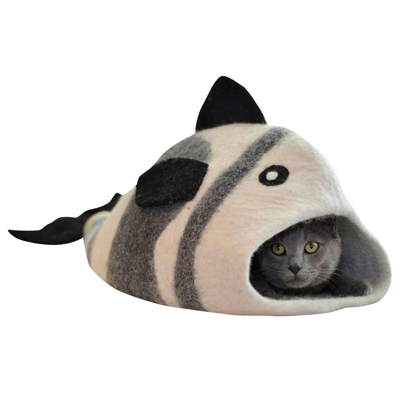フェルトの猫のおうち ネコクーン魚