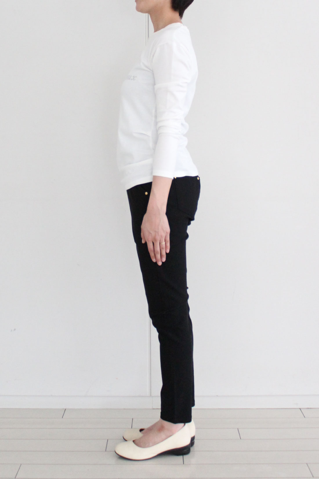 ※着用イメージです。お届けするカラーとは異なります。モデル身長:160cm Mサイズ着用