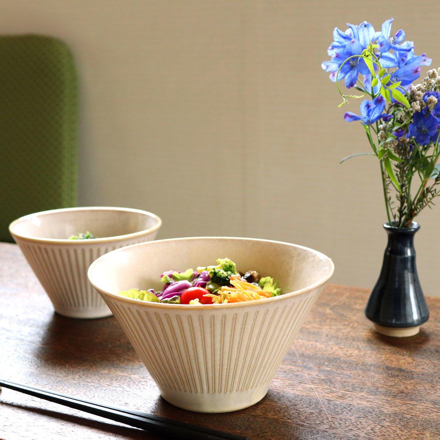 ハンプやデニムみたいな 居酒屋さん風サラダ鉢2個セット