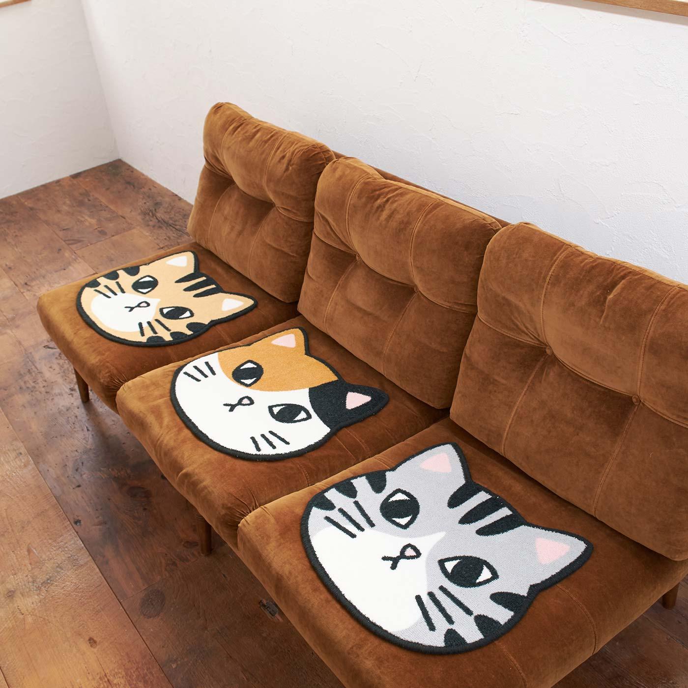 おうちでソファーやいすに敷いても。