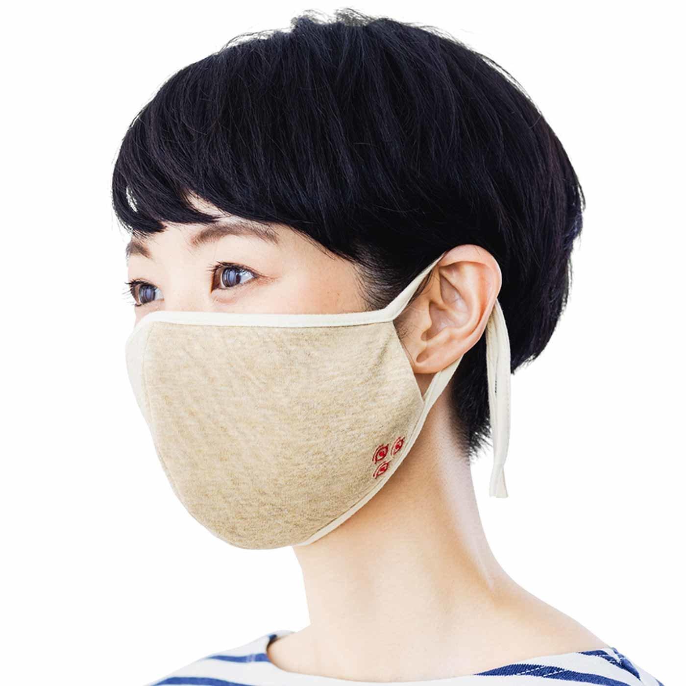 病魔退散! 白澤印のオーガニックコットン布マスクの会