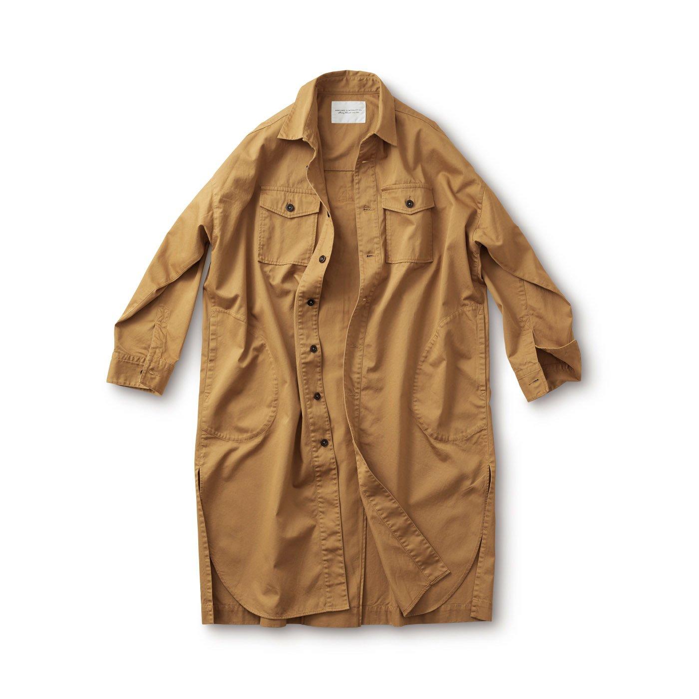 サニークラウズ コートになったシャツ〈メンズ〉