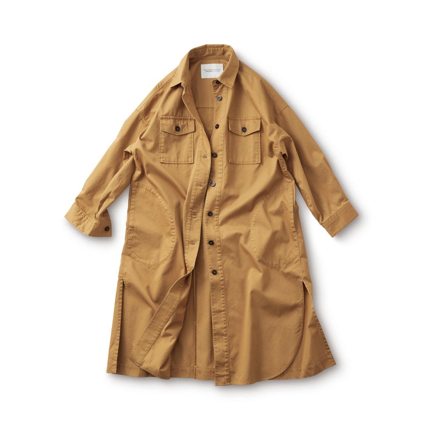 サニークラウズ コートになったシャツ〈レディース〉
