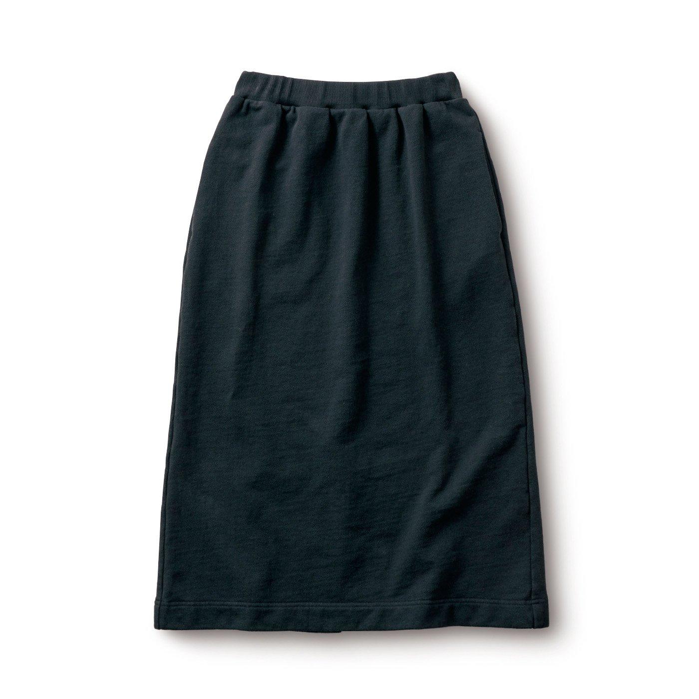 サニークラウズ スウェットスカート〈レディース〉黒