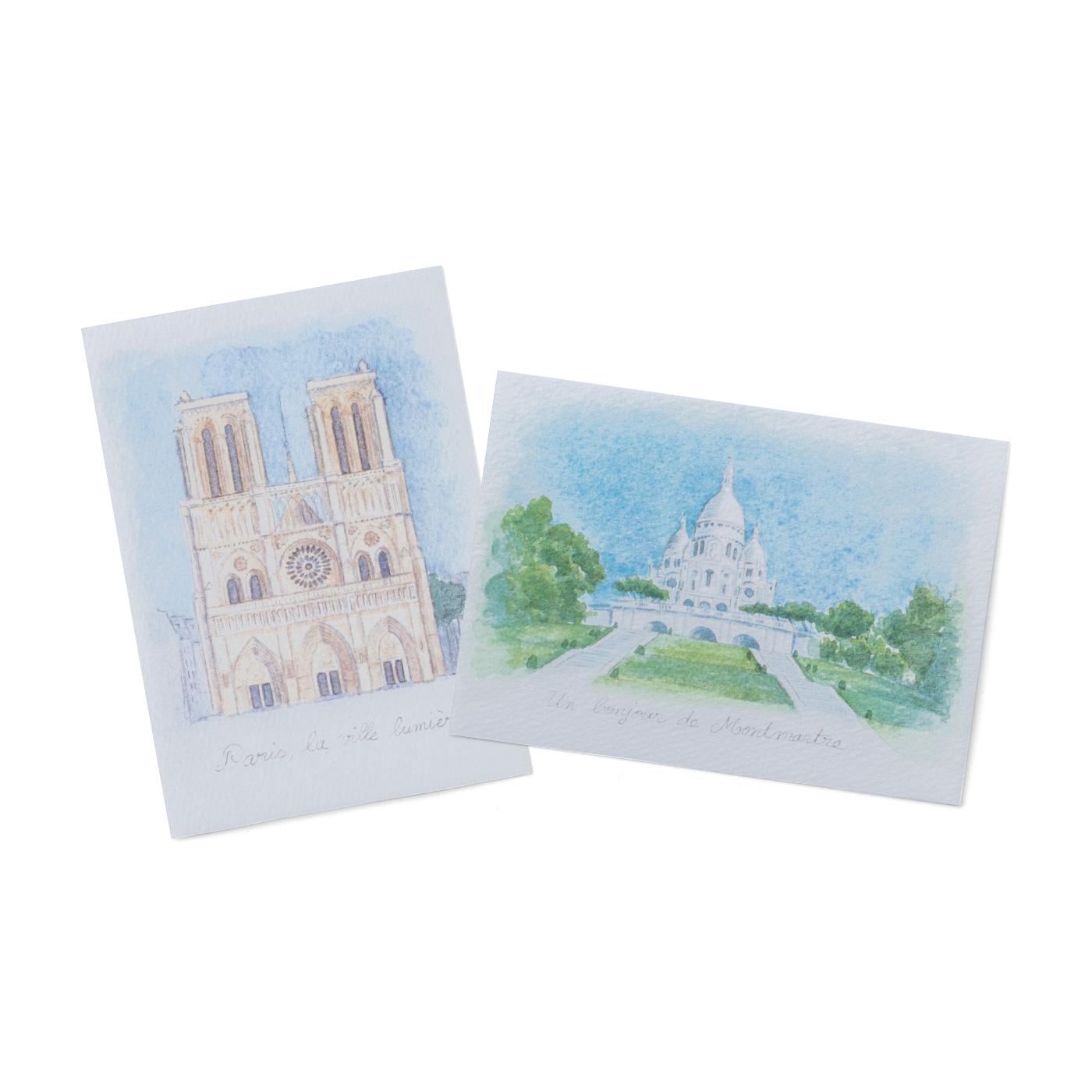 アンヌさんオリジナルイラストのポストカード付き