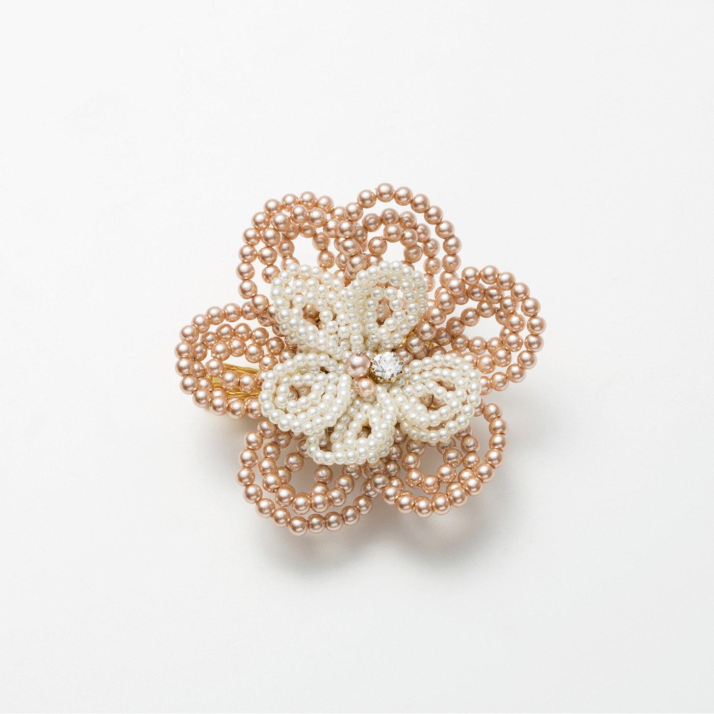 ヴィンテージ感あふれる お花の編み付けコスチュームアクセサリー