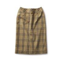 <フェリシモ>サニークラウズ チェックなタイトスカート〈レディース〉【送料無料】