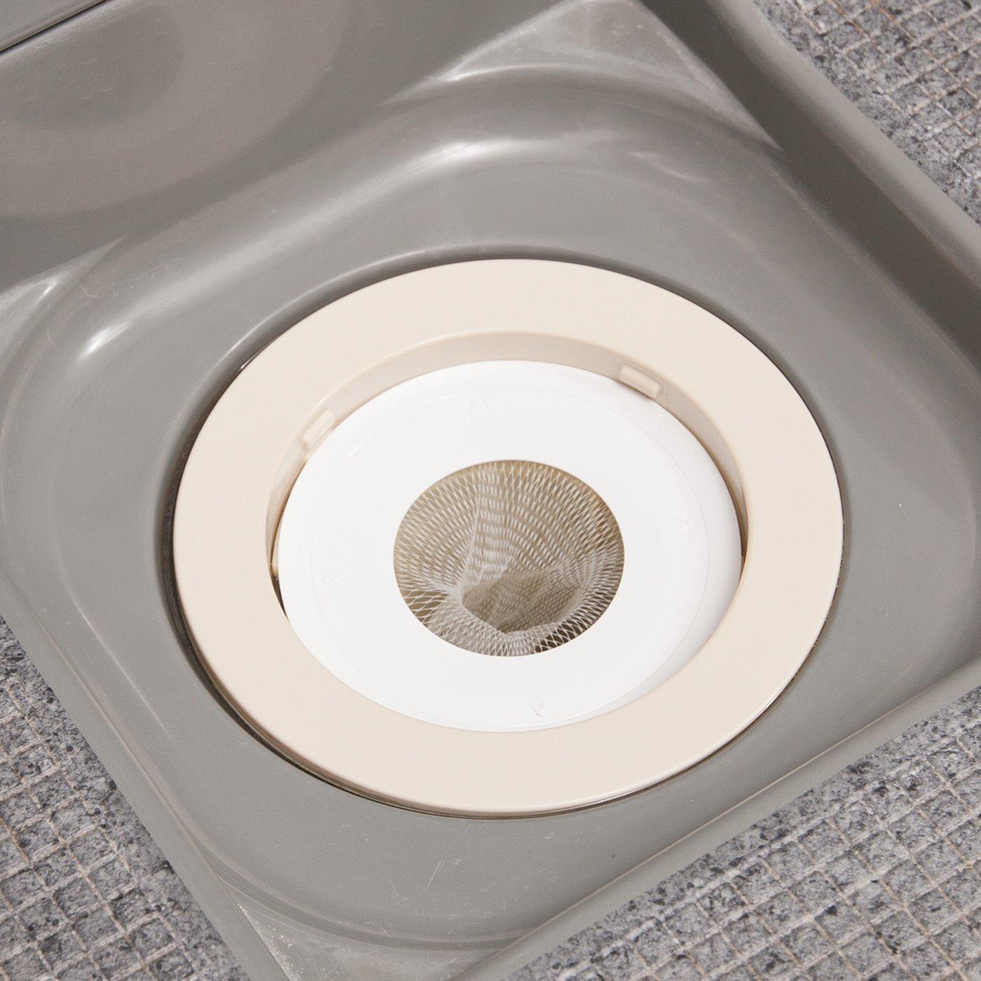 目皿の代わりにポンと置くだけ お掃除らくらく お風呂の排水口ネットの会