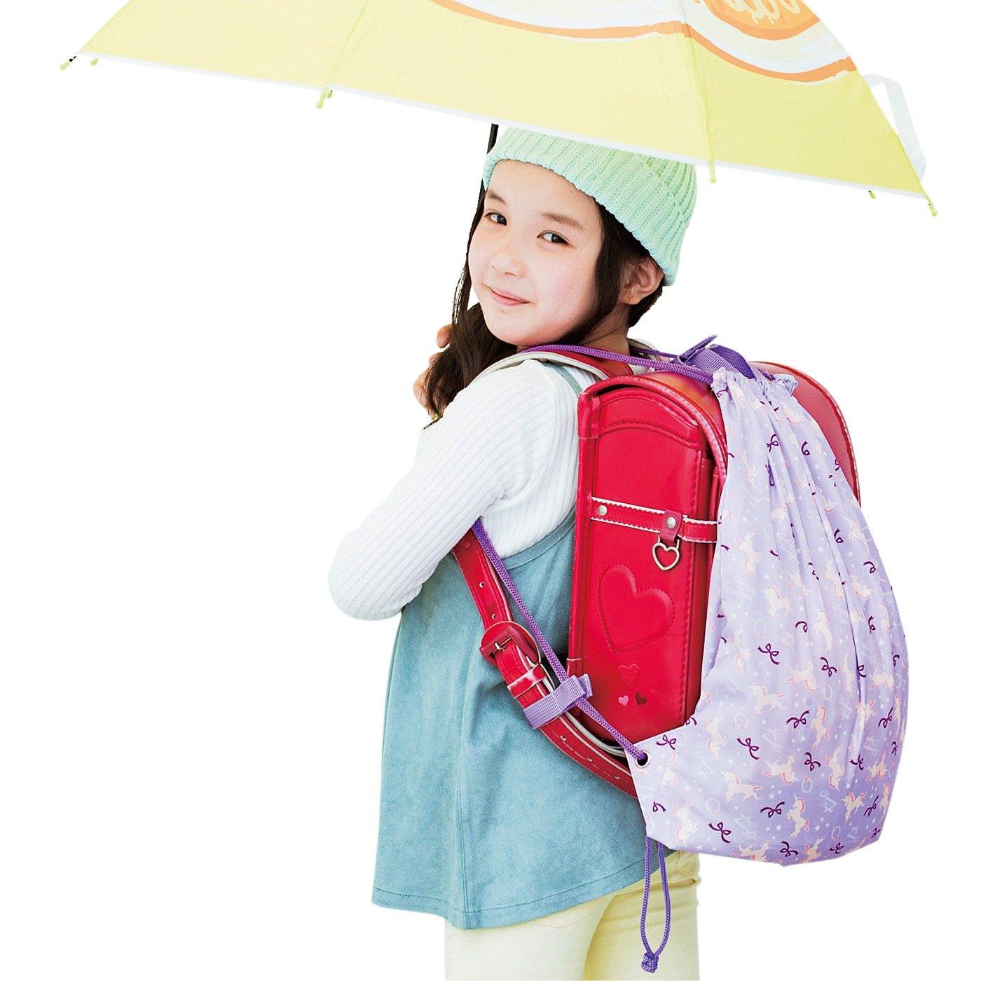 雨の日も手ぶらで安心 ランドセルナップサック〈ガールズ〉