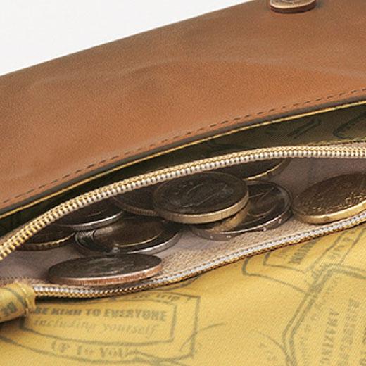 ファスナー付きコインポケット