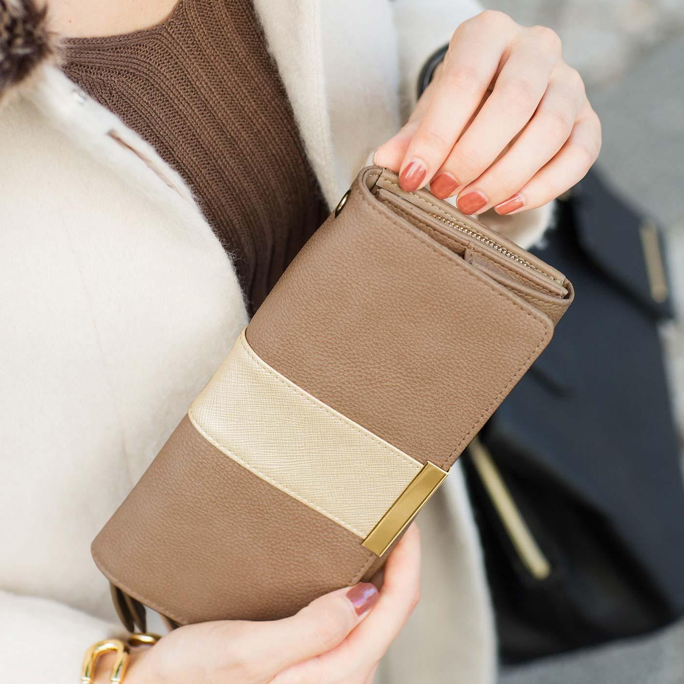 ドッキングさせれば、すっきりひとつのお財布として使えます。