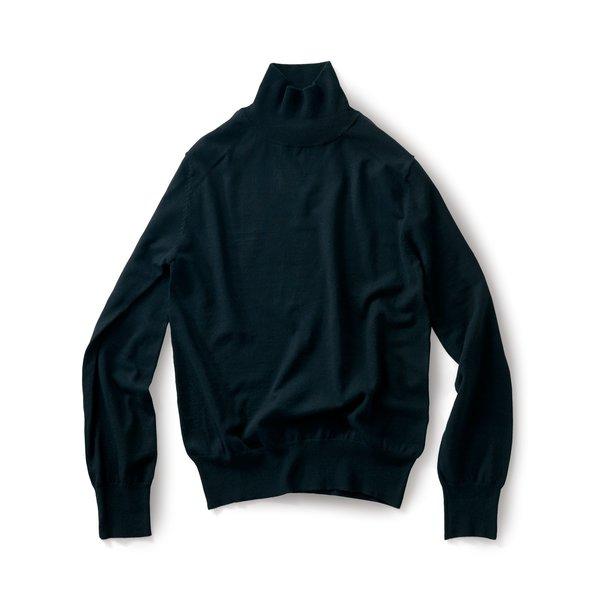 サニークラウズ 熱燗徳利セーター〈メンズ〉黒