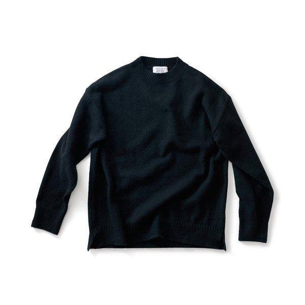 サニークラウズ 気取らずセーター〈メンズ〉真っ黒