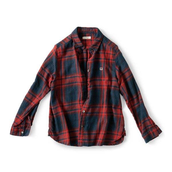 and myera 女学生チェックシャツ