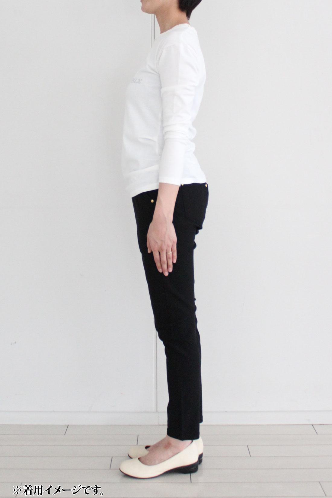 ※着用イメージです。お届けするカラーとは異なります。 モデル身長:160cm Mサイズ着用