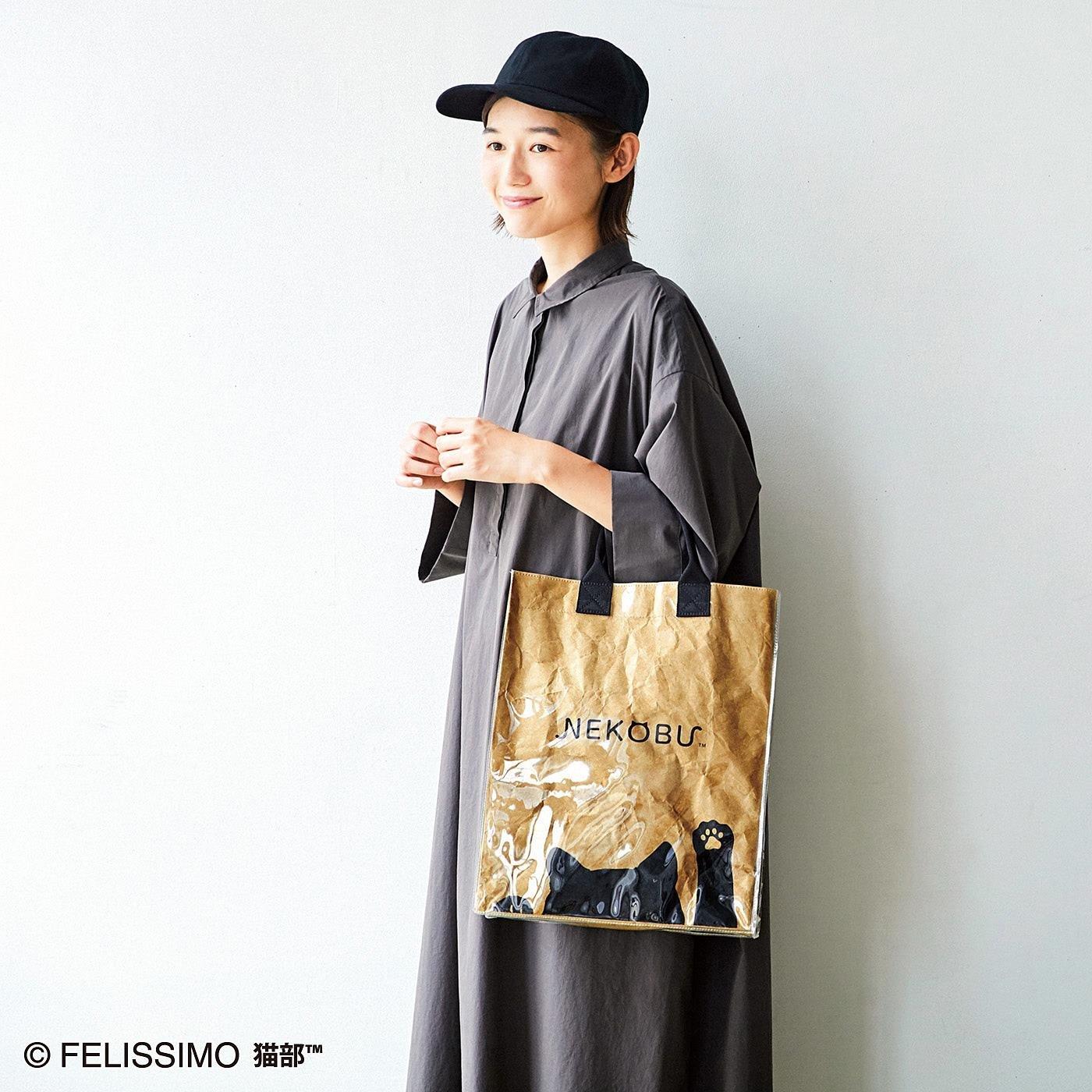 フェリシモ猫部 ショッパー風バッグ