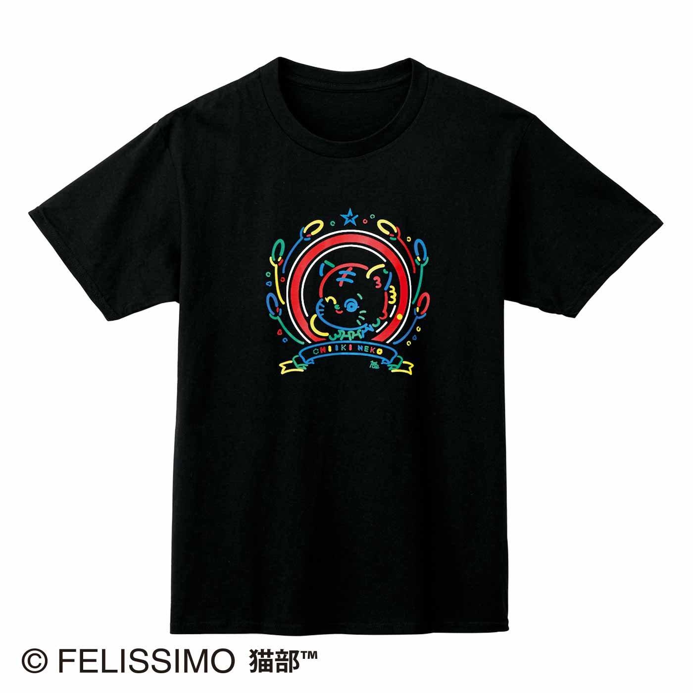 原田ちあき×猫部 地域猫チャリティーTシャツ2021